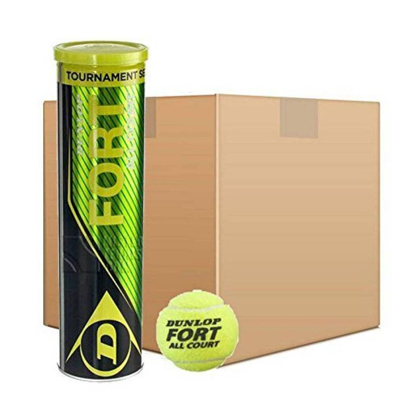 Dunlop - Fort All Court Tournament Select - Lot de 18 tubes de 4 balles de tennis de la marque Dunlop TOP 3 image 0 produit