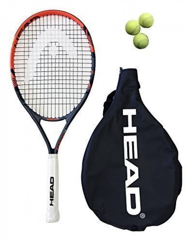 Junior Chef Radical 26 Raquette De Tennis Andy Murray + 3 Balles De Tennis de la marque HEAD TOP 3 image 0 produit