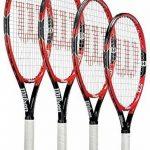 Wilson Raquette Sports Débutants Level Joueurs Federer Raquette De Tennis Junior de la marque Wilson TOP 4 image 0 produit