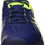 Asics Gel-Solution Speed 3, Chaussures de Tennis Homme, Bleu Foncé/Jaune de la marque Asics TOP 12 image 1 produit