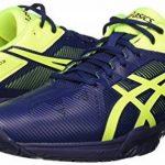 Asics Gel-Solution Speed 3, Chaussures de Tennis Homme, Bleu Foncé/Jaune de la marque Asics TOP 12 image 6 produit