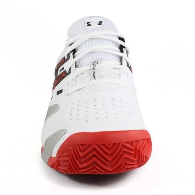 Babolat V-Pro 2Clay M - Chaussures de Tennis, modèle 2013, pour homme - - Weiß/Schwarz/Silber/Rot, de la marque Babolat TOP 12 image 1 produit