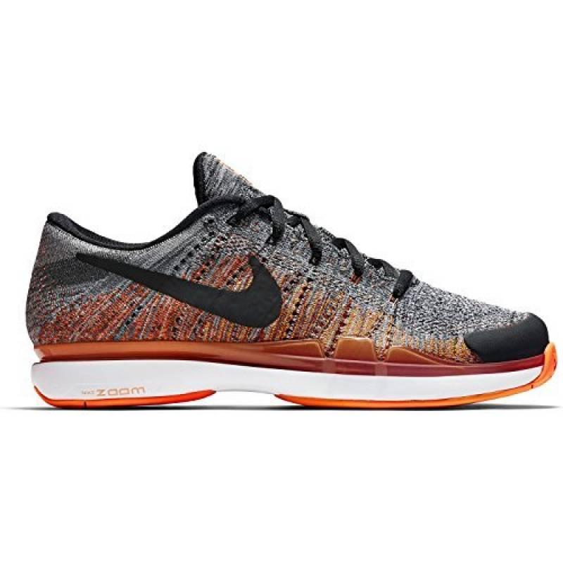 Chaussure Nike Zoom Vapor Flyknit Gris Orange Été 2017 - 45 de la marque Nike TOP 4 image 0 produit