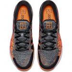 Chaussure Nike Zoom Vapor Flyknit Gris Orange Été 2017 - 45 de la marque Nike TOP 4 image 2 produit