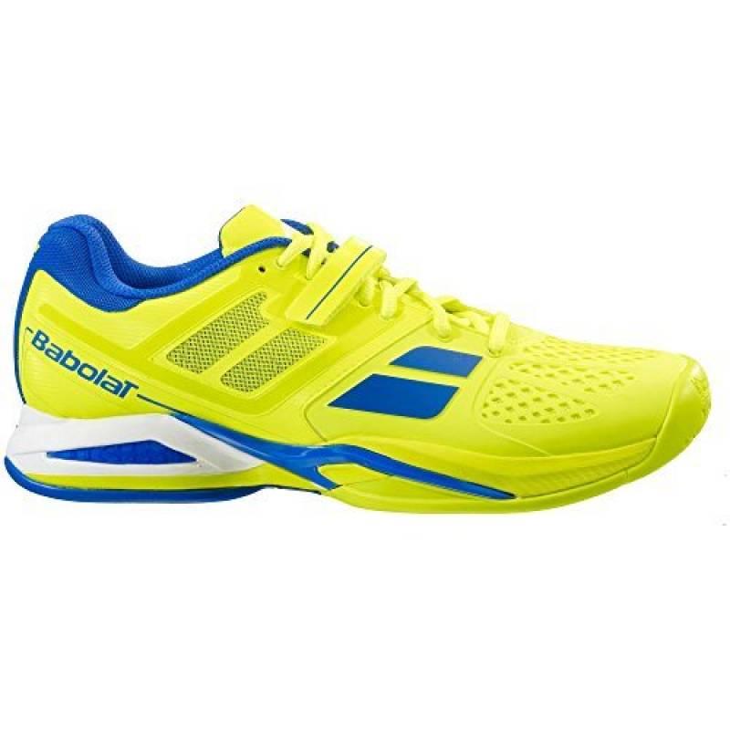 Chaussures Junior Babolat Propulse Jaune Bleu de la marque Babolat TOP 2 image 0 produit