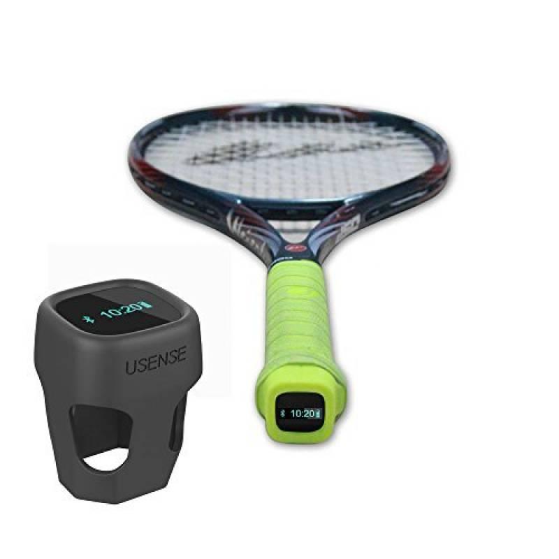 Elikliv USENSE Capteur de Tennis Intelligente Deux-en-un Tennis d'Entraînement Smart Analyseur de Compétence ballant Swing ( Noir ) de la marque Elikliv TOP 6 image 0 produit