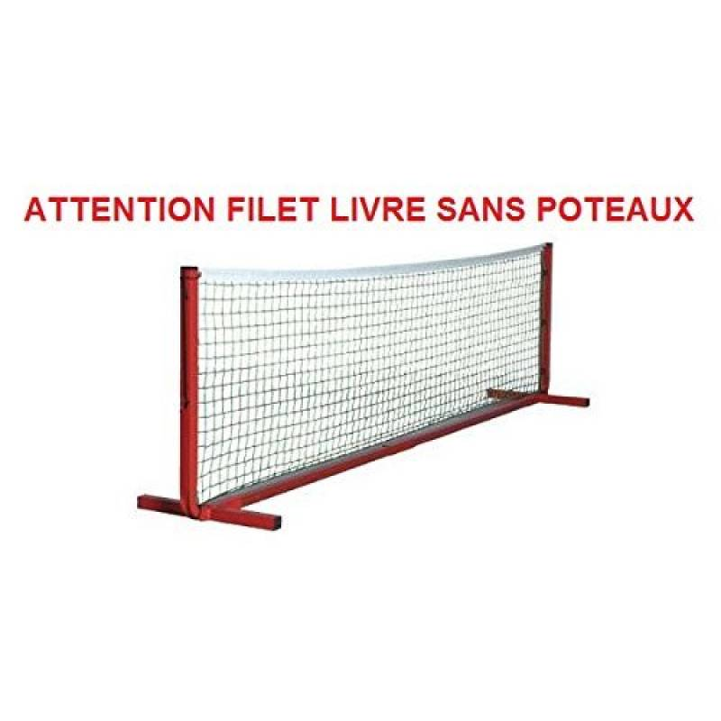 Filet mini-tennis polypropylène Ø 2.5mm vert. Longueur 4m de la marque BWA Sports TOP 2 image 0 produit