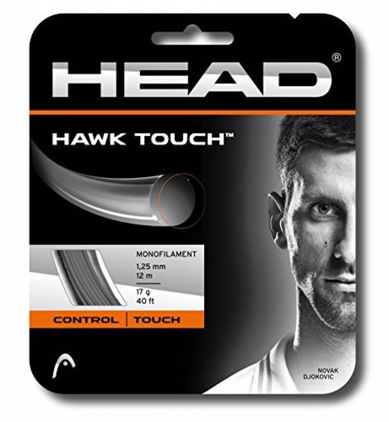Head 281214 17 AN Hawk Touch Cordage pour raquette de tennis Gris 120 m de la marque HEAD TOP 1 image 0 produit