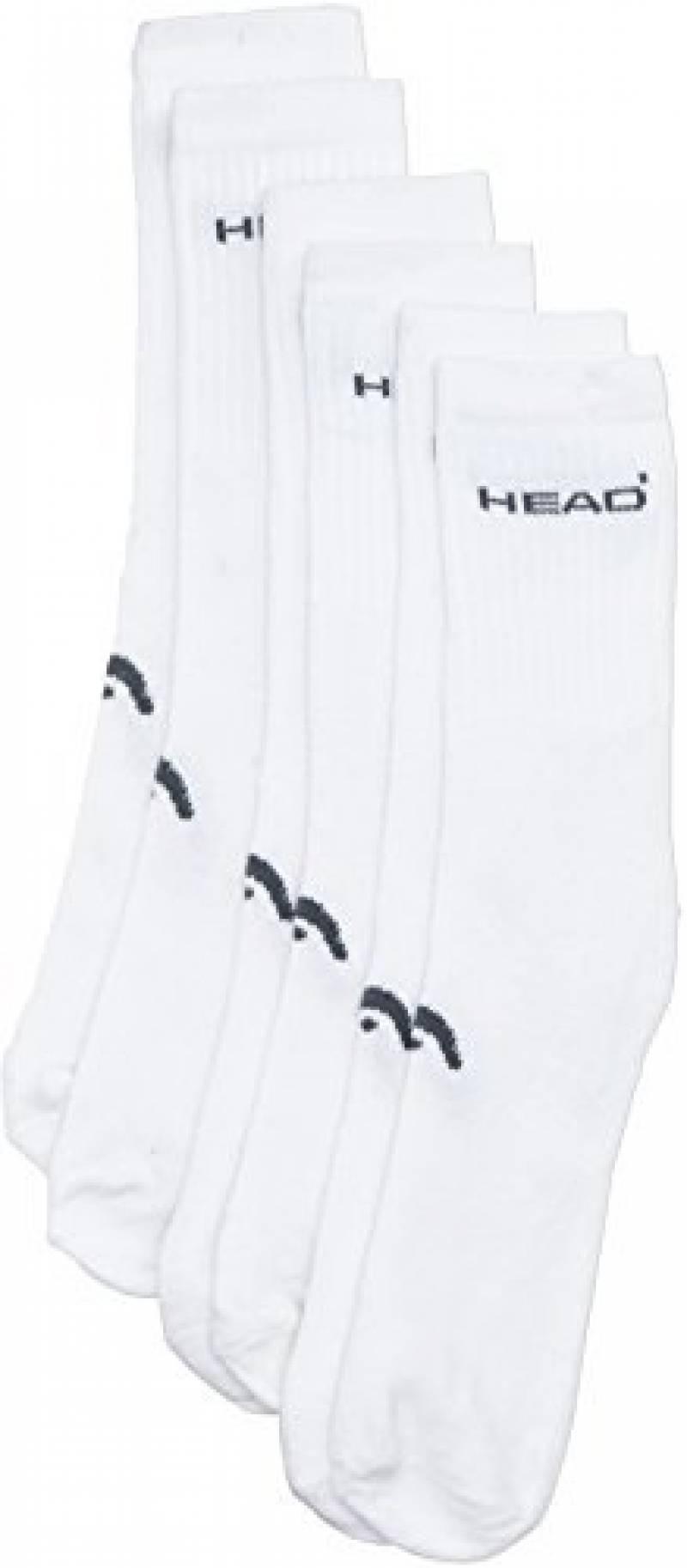 Head Instinct Chaussettes pour homme Blanc Taille 39-42 de la marque HEAD TOP 3 image 0 produit