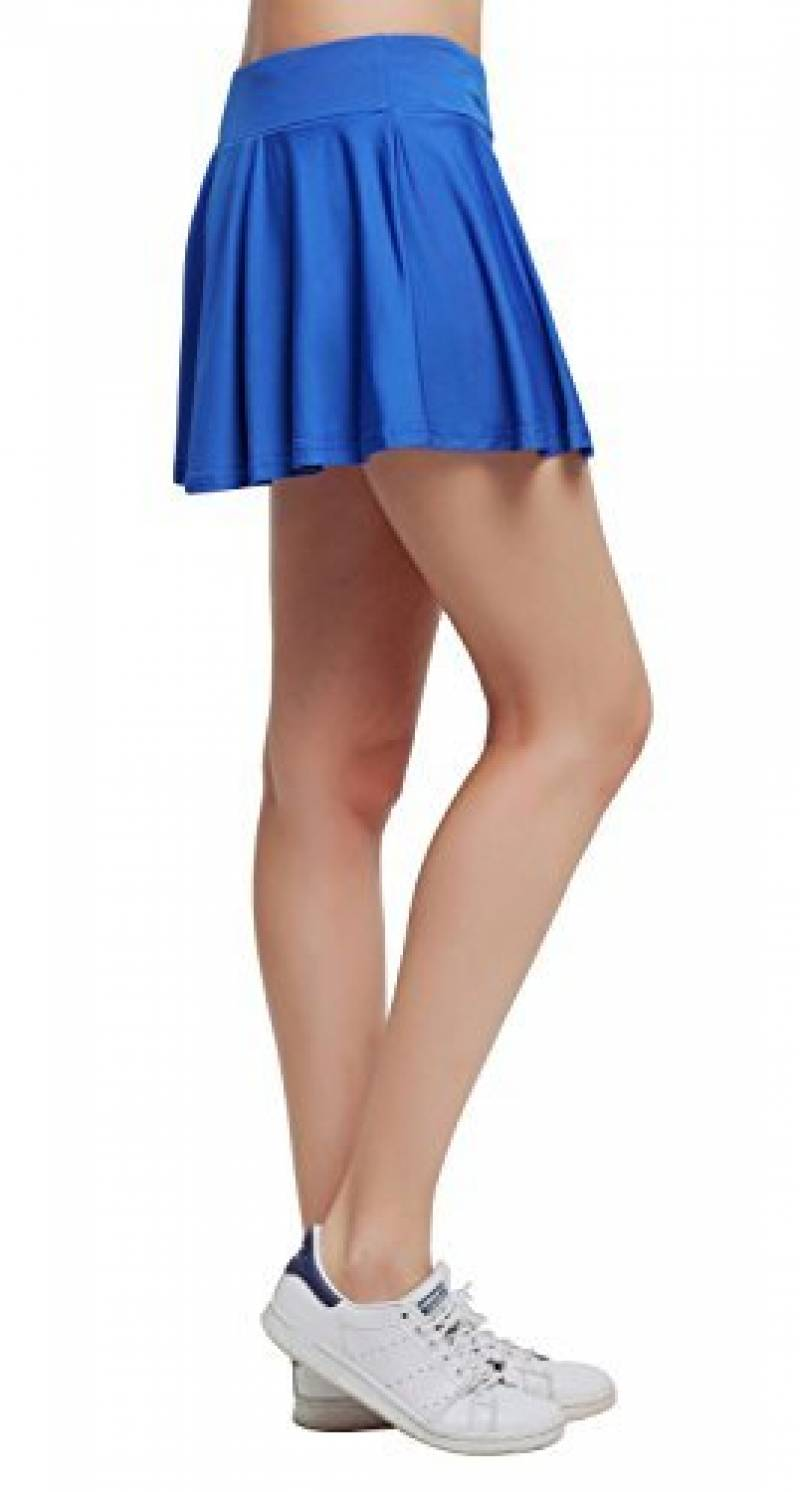 HonourSport-Jupe-short Plissé Courte Uni Skort Jupe de Tennis XS à XL-Femme de la marque HonourSport TOP 11 image 0 produit