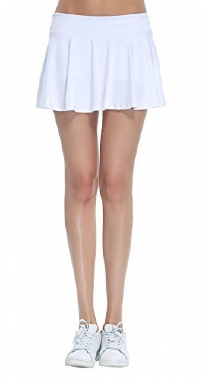 HonourSport-Jupe-short Plissé Courte Uni Skort Jupe de Tennis XS à XL-Femme de la marque HonourSport TOP 12 image 0 produit
