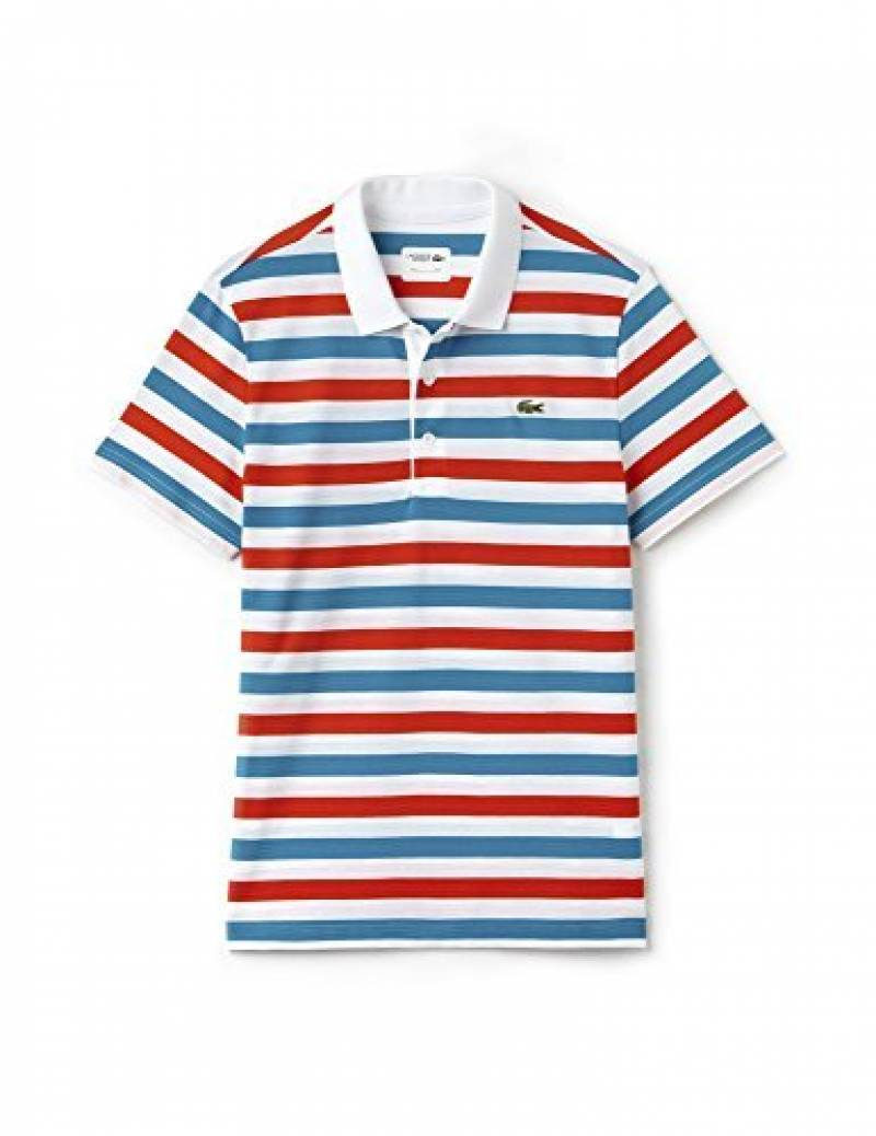 Lacoste Men's Sport Men's Striped Polo 100% Cotton de la marque Lacoste TOP 4 image 0 produit
