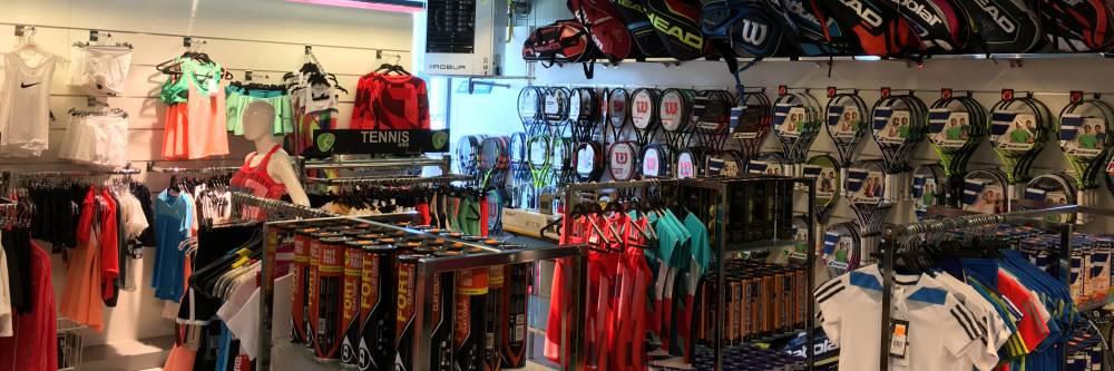 Les accessoires pour pratiquer le tennis principale