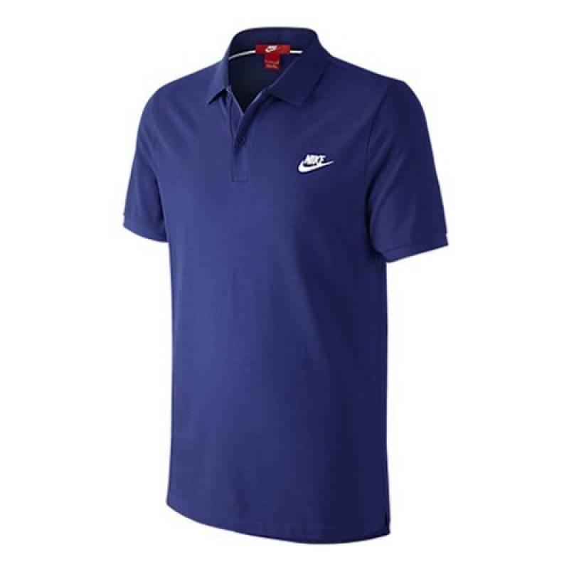 NIKE Polo de GS slim, profond de bleu roi/blanc de la marque Nike TOP 2 image 0 produit