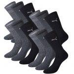 Puma Unisexe Crew Chaussettes Chaussettes Chaussettes de sport avec semelle en éponge Pack de 12 - - Taille 43-46 EU de la marque Puma TOP 4 image 2 produit