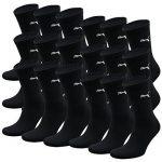 PUMA Unisexe Crew Chaussettes Chaussettes De Sport AVEC SEMELLE BOUCLETTE 18 Lot - coton, - noir, Mixte, 43-46 de la marque Puma TOP 3 image 0 produit