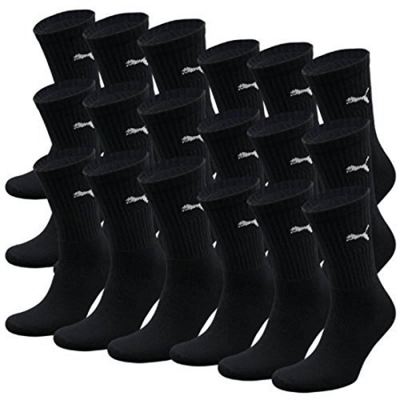 PUMA Unisexe Crew Chaussettes Chaussettes De Sport AVEC SEMELLE BOUCLETTE 18 Lot de la marque Puma TOP 4 image 0 produit