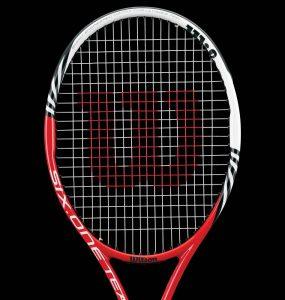 Raquette de tennis Wilson six one team principale