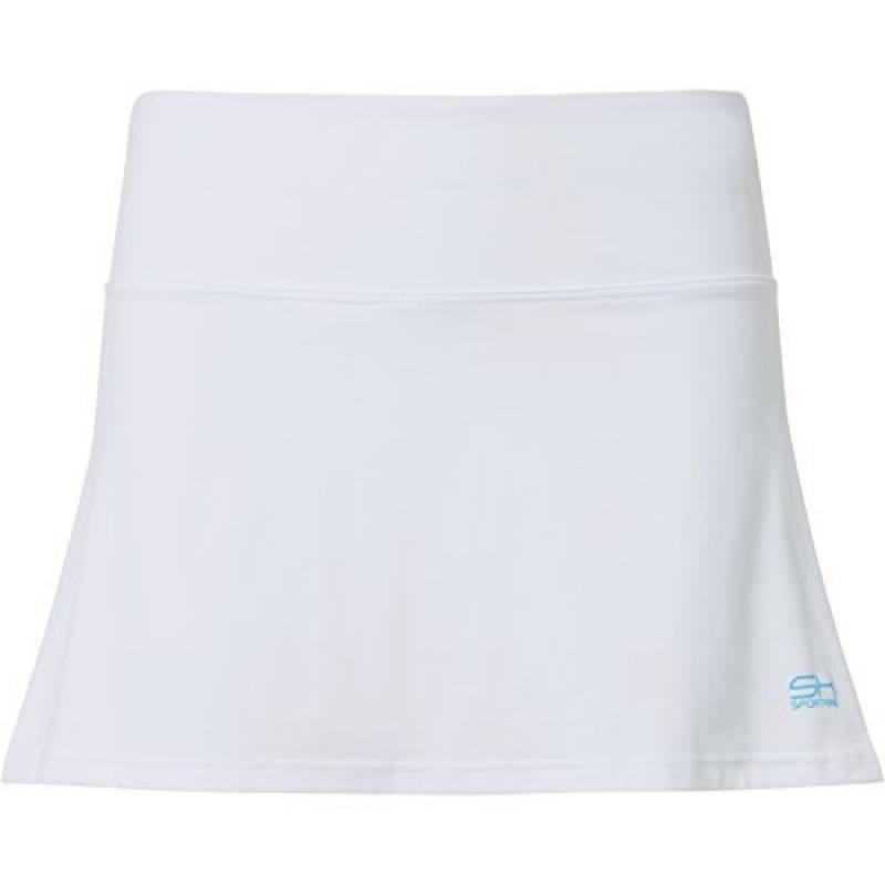 Sportkind Jupe-short de tennis / hockey sur gazon / golf pour fille et femme en blanc tailles 4 ans à XXL de la marque Sportkind TOP 2 image 0 produit