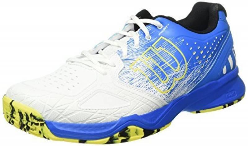 Wilson Kaos Comp Bl/Wh/Ye, Chaussures de Tennis Homme de la marque Wilson TOP 3 image 0 produit