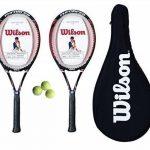 Wilson Lot de 2 raquettes de Tennis 100 Enforcer Housse de transport 3 150 balles de Tennis de la marque Wilson TOP 9 image 0 produit