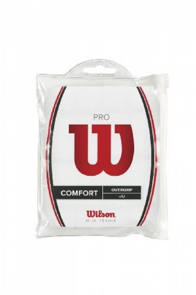 Wilson Pro Overgrip (Pack de 12) blanc - surgrips de la marque Wilson TOP 15 image 0 produit