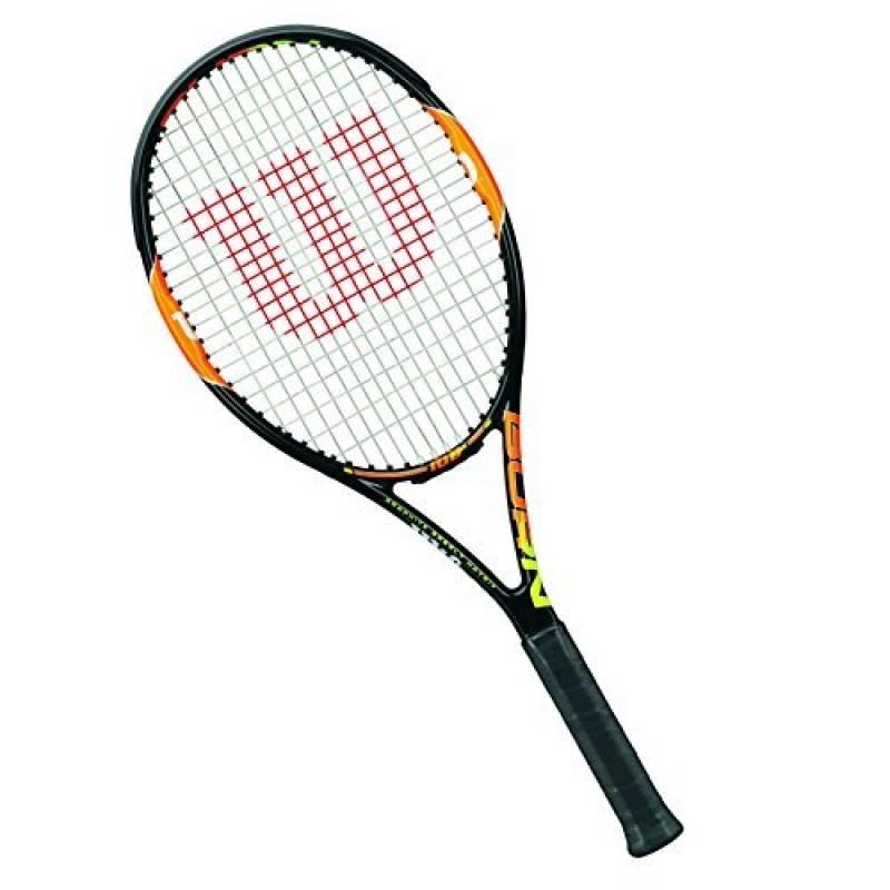 Wilson Raquette de Tennis Homme/Femme, Pour Joueurs de Fond de Court, Débutants et Avancés, Burn 100 Team de la marque Wilson TOP 12 image 0 produit