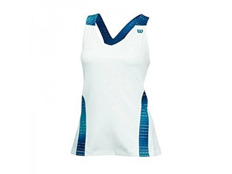 Wilson robe de tennis pour femme w sU colorflight débardeur col en v pour femme de la marque Wilson TOP 4 image 0 produit