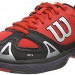 Wilson RUSH PRO JUNIOR, Chaussures de Tennis mixte enfant de la marque Wilson TOP 2 image 0 produit