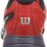 Wilson RUSH PRO JUNIOR, Chaussures de Tennis mixte enfant de la marque Wilson TOP 2 image 2 produit