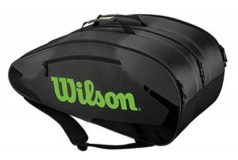 Wilson Sac de tennis Tour Team 12Pack Noir/Lime de la marque Wilson TOP 5 image 0 produit