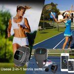 Boblov Usense 2-en-1 Capteur Agile Montre Bracelet Tennis Analyseur de Performance Swing de la marque Usense TOP 1 image 3 produit