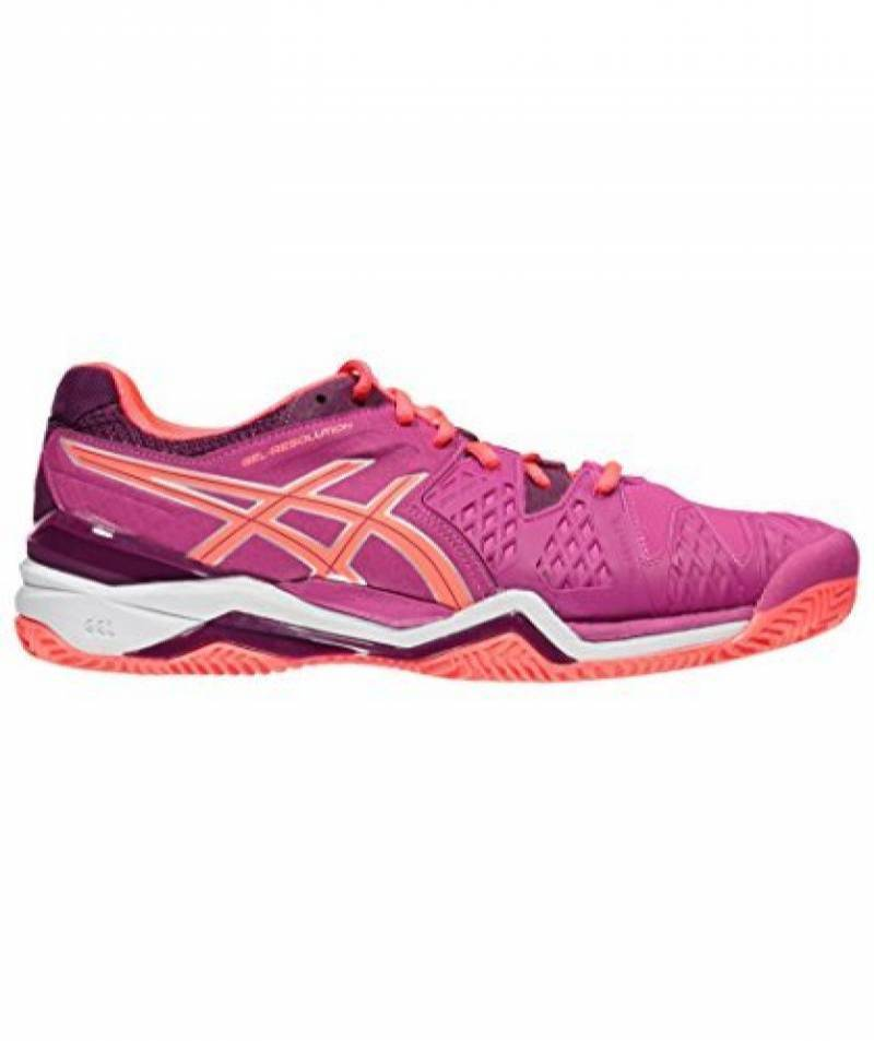 newest 3ad76 4d798 Chaussures Femme Asics Gel-resolution 6 Clay de la marque Asics TOP 1 image  0
