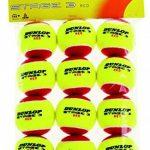 Dunlop Stage 3 Sachet de 12 balles Rouge/Jaune de la marque Dunlop TOP 5 image 0 produit