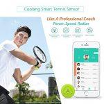 elikliv usense Capteur intelligent de Tennis de Tracker d'entraînement Analyseur de swing données d'activité pour entraînement de tennis de la marque El TOP 8 image 1 produit