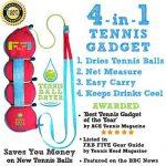 Tennis Sèche- Ball - 4-en- 1 accessoire Tennis - Voté «Meilleur Tennis Gadget » - Comprend quatre Grands fonctionnalités de 1. Le cadeau parfait pour Tennis ne TOP 11 image 1 produit