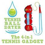 Tennis Sèche- Ball - 4-en- 1 accessoire Tennis - Voté «Meilleur Tennis Gadget » - Comprend quatre Grands fonctionnalités de 1. Le cadeau parfait pour Tennis ne TOP 11 image 2 produit