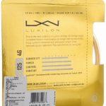 Wilson Luxilon Cordage de Raquette Mixte de la marque Wilson TOP 4 image 1 produit