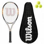 Wilson Nitro Team 105 Graphite Raquettes De Tennis L3 + Full BLX Cover + 3 Balles de la marque Wilson TOP 14 image 0 produit